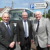 Opening of Millbrook Park and Ride