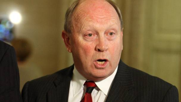 Jim Allister clashed with deputy speaker Roy Beggs during a debate last week