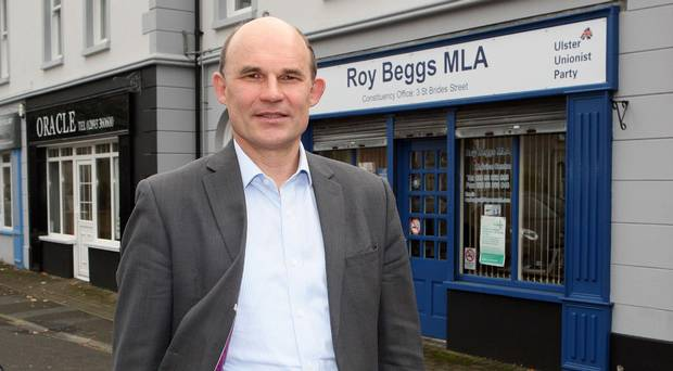 Astonished: UUP MLA Roy Beggs