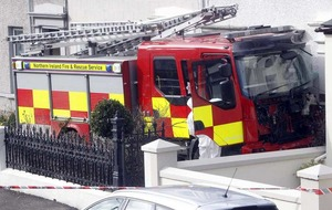 Larne fire engine rampage: pensioner and teenager charged