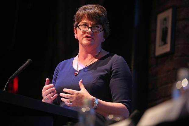 DUP leader Arlene Foster (Danny Lawson/PA)