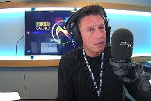 BBC presenter Stephen Clements.