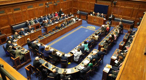 The new Speaker of the Northern Ireland Assembly, Alex Maskey MLA (PA)