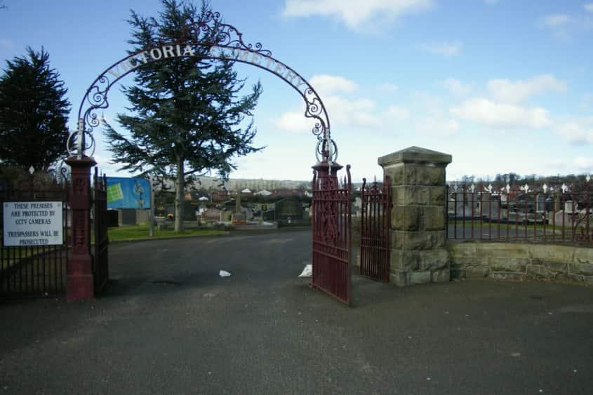 Victoria Cemetery.
