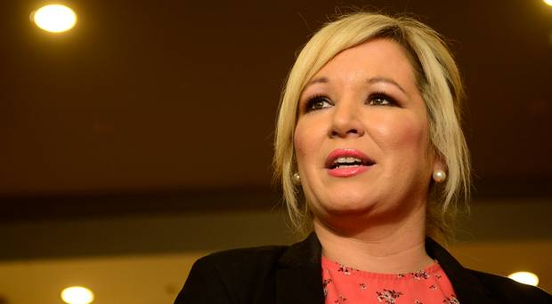 Sinn Fein Stormont leader Michelle ONeill