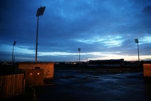 A view of Casement Park (Brian Lawless/PA)