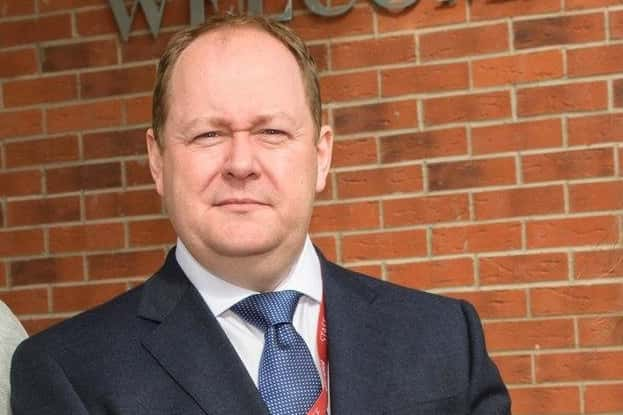 Michael Houston, principal, of Ulidia Integrated College.