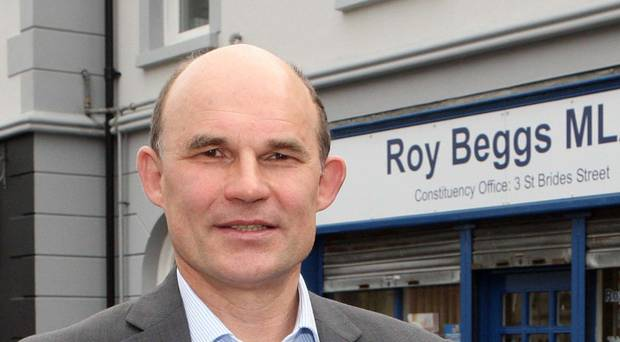 Health crisis: Roy Beggs MLA