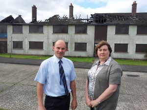Continuing housing blight at Craigyhill