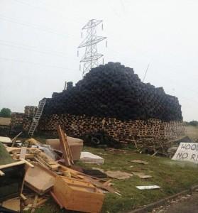 Oakwood bonfire