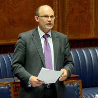 Roy in Assembly Chamber