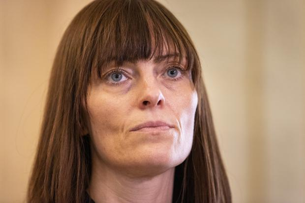 SDLP deputy leader and Minister for Infrastructure, Nichola Mallon MLA updated the Assembly on the driving test backlog (Liam McBurney/PA)