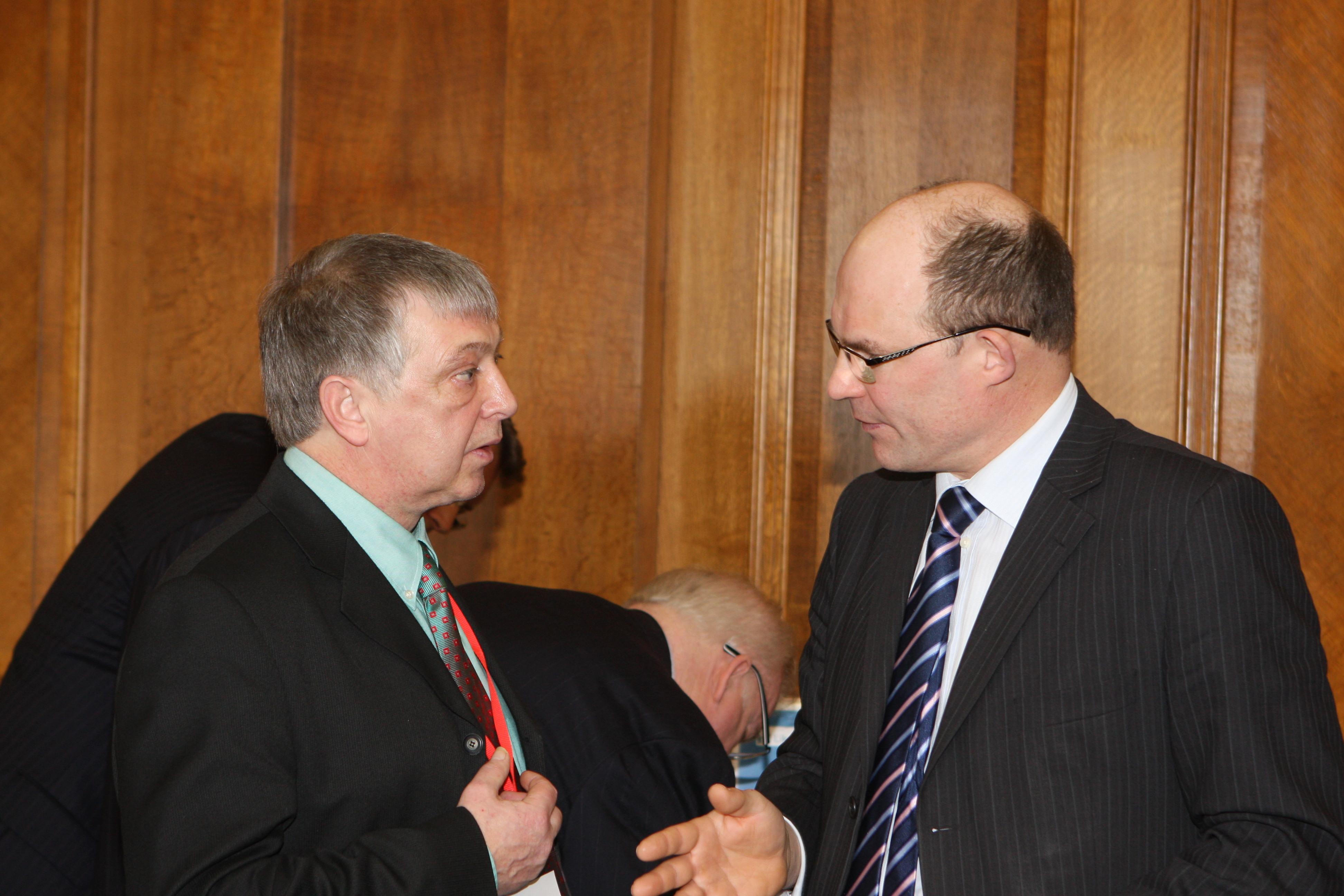 Beggs talks to Paul Erwin