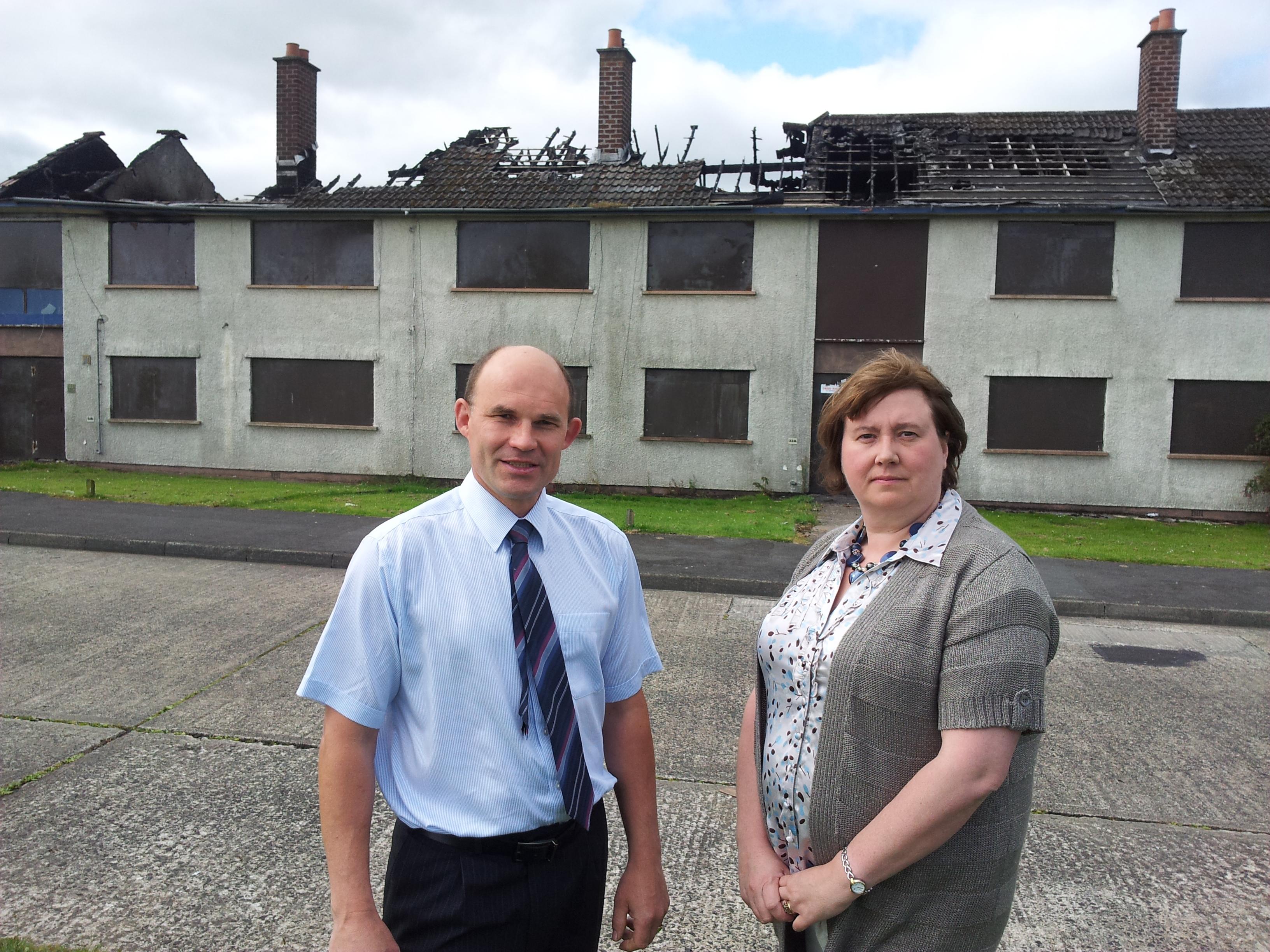 Continuing housing blight at Craigyhill